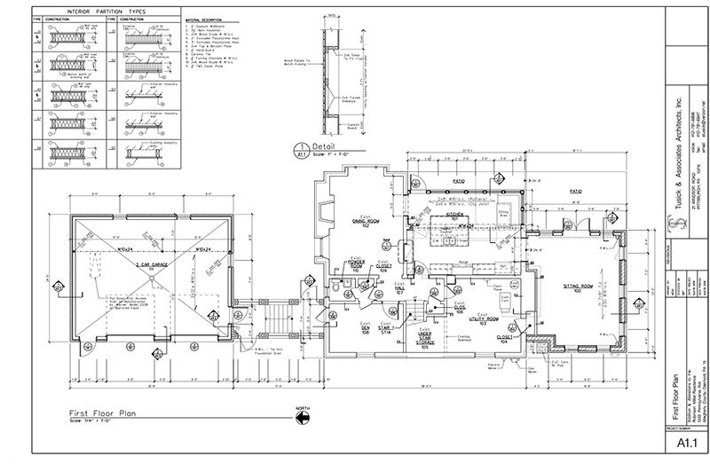 Residential blueprint brnardic pittsburgh contracting residential blueprint malvernweather Choice Image